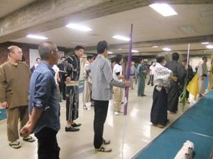 パレード練習1001廊下