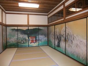 伏見稲荷社務所部屋