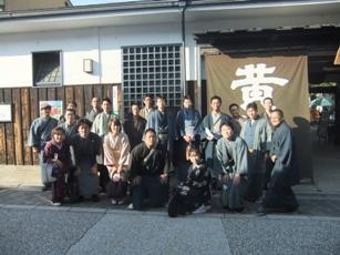 黄桜記念館集合