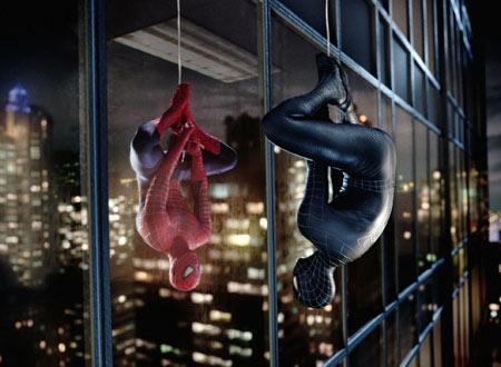 スパイダーマン3 ブラックと