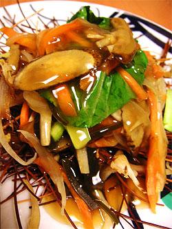 中華風野菜炒め
