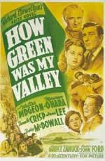 14回アカデミー賞作品賞「わが谷は緑なりき」