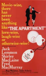 33回アカデミー賞作品賞「アパートの鍵貸します」