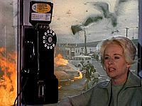 ヒッチコック 鳥 公衆電話ボックス
