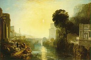 ターナー「カルタゴを建設するディド」1815)