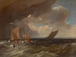 ターナー「嵐の近づく海景」