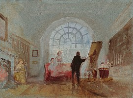 the artist and his admirers(1827)-
