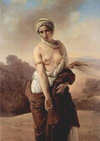 ルツ フランチェスコ・アイエツ(1835年の作品)