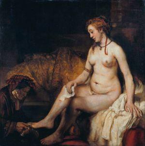 レンブラント 《水浴するバテシバ》1654年
