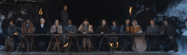 MURDER ON THE ORIENT EXPRESS 2017 last supper