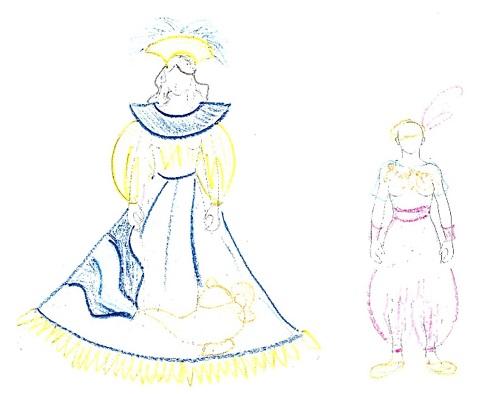 バイアーナとクリアンサ ランプとランプの精