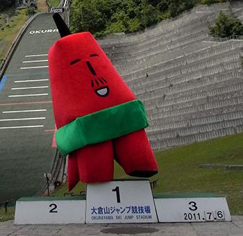 オリンピックっぽい写真