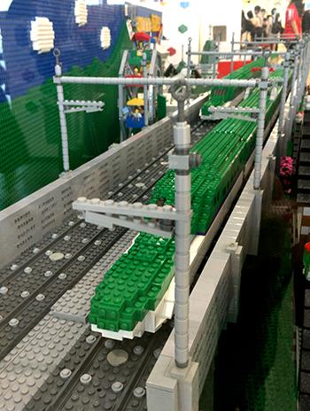 レゴ新幹線