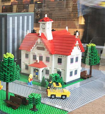 レゴ時計台