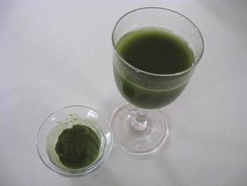 国産有機緑茶青汁5
