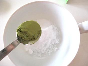 緑茶入浴剤5