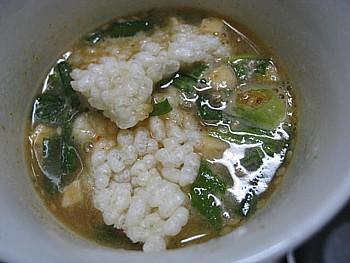 発芽玄米おこげのスープ6