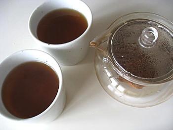手作りニンジン茶11
