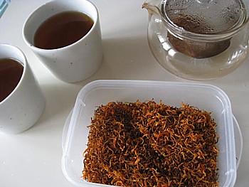 手作りニンジン茶12
