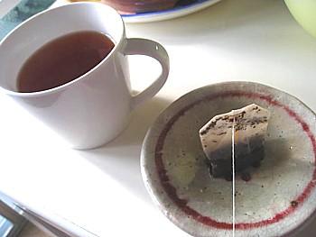 目のむくみに紅茶パック