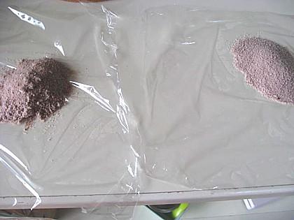チョコレート色の手作りバスボム6