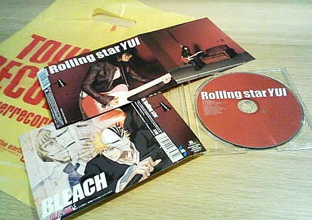 Rolling star|YUI ゲット!!
