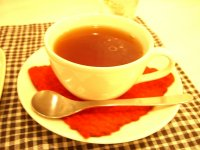 hot apple tea**