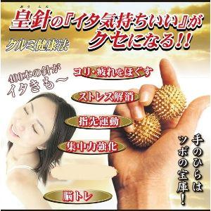 健康通販ブログ☆回転式指圧代用器皇針