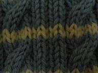セーターの模様