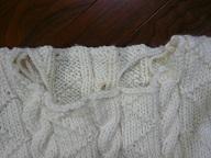 セーターの襟