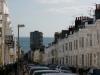 街からの海の眺め
