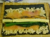 寿司を巻く前