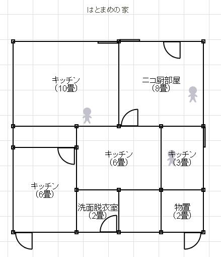 建築平面図ジェネレータの結果