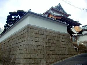 花隈城石垣