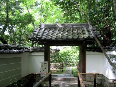 高桐院玄関