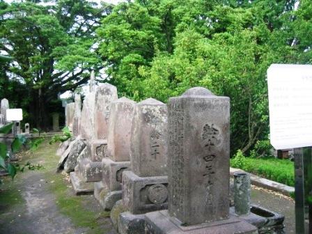 少年兵のお墓