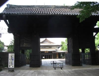 寛永寺本坊表門
