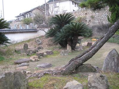 安国寺恵瓊作庭