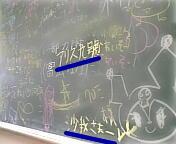 うちのクラスの後ろの黒板