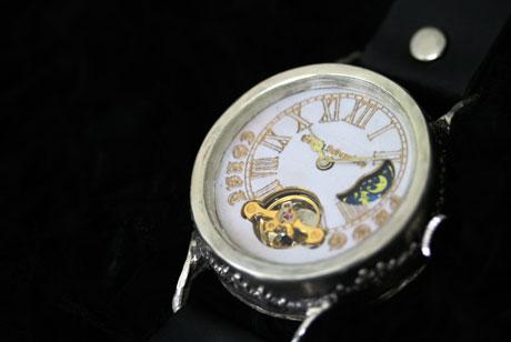 手作り 機械式 腕時計 COUNTDOWN