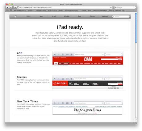 iPad対応サイト