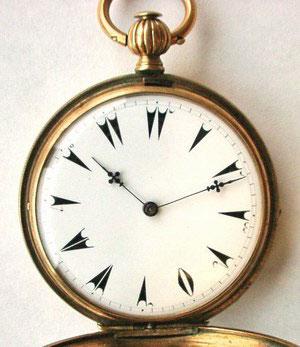 トルコ数字 懐中時計