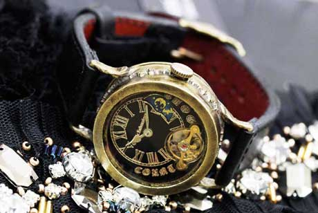 手作り腕時計 機械式