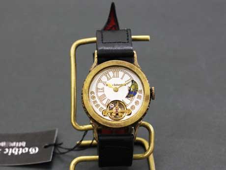 手巻き 機械式腕時計 真鍮 COUNTDOWN