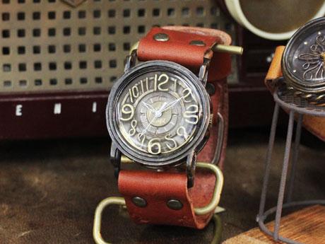 手作り腕時計 Mari Goto J