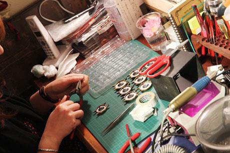 手作り腕時計 アシスタント