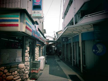神戸市須磨区塩屋 路地