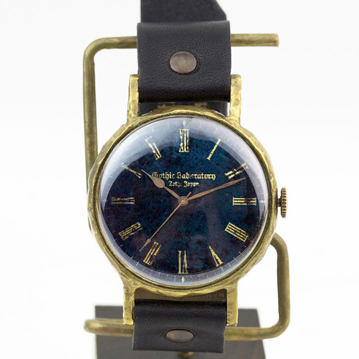 ブルーの文字盤 腕時計