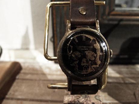 ドクロ 腕時計