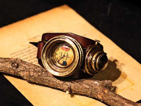 潜水艦のメーター 腕時計